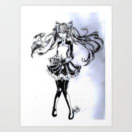 Hatsune Miku  Art Print