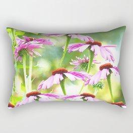 Wandering in the garden - summer mood Rectangular Pillow