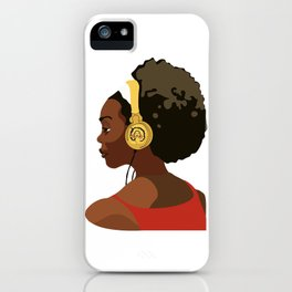 Listen to Black Podcasts iPhone Case