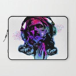 Jesus and the Headtones, in Bue Laptop Sleeve
