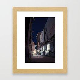 The Backstreet Framed Art Print