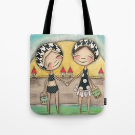 I Remember Summers by the Shore Tote Bag