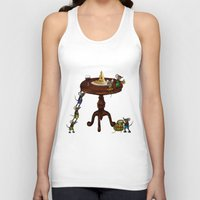 cheese Tank Tops featuring Cheese by Anna Shell