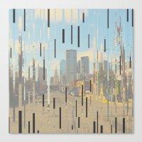dallas Canvas Prints featuring Dallas by Calepotts
