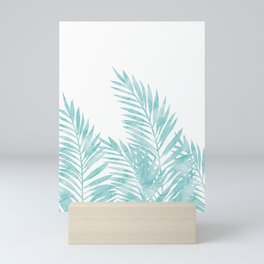 Palm Leaves Island Paradise Mini Art Print