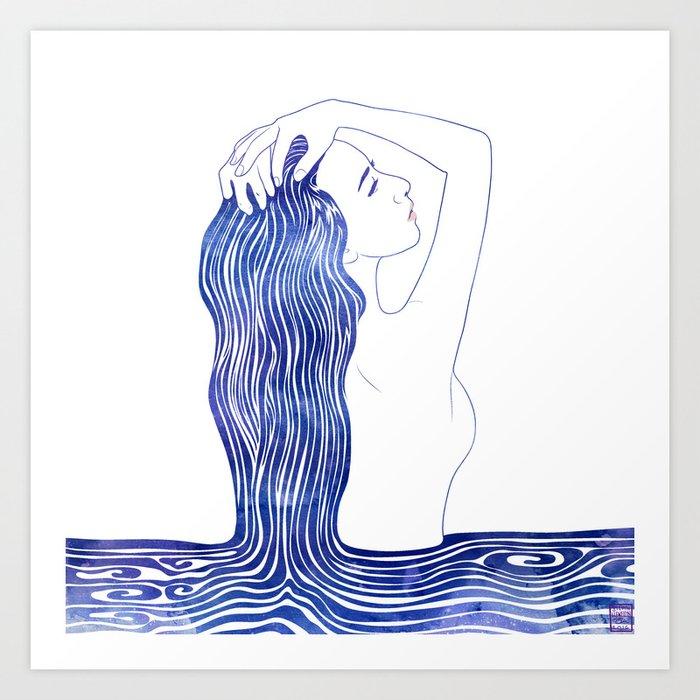 Water Nymph XXXIX Art Print