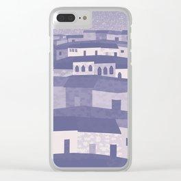 Puerto Vallarta at Night Clear iPhone Case