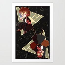 Bad End Gravity Falls (Bipper) Art Print
