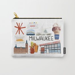 Milwaukee, Wisconsin Carry-All Pouch