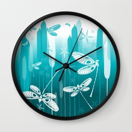 CN DRAGONFLY 1014 Wall Clock