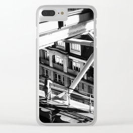 Uban jungle Clear iPhone Case