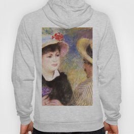 Boating Couple, Said To Be Aline Charigot And Renoir - Digital Remastered Edition Hoody