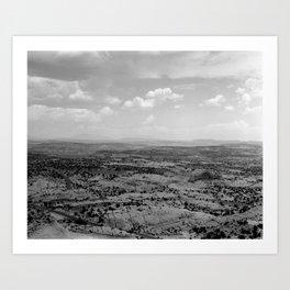 "ESCALANTE #01 - Fomapan 100 - 4x5"" film Art Print"