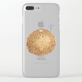 Poofy Bambatta Clear iPhone Case