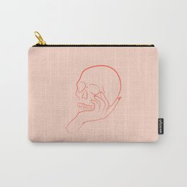 Skull Graphic Carry-All Pouch