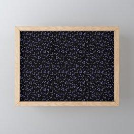 Memphis Pattern 15 - 80s Retro Framed Mini Art Print