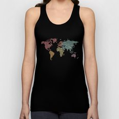 Paisley World Unisex Tank Top