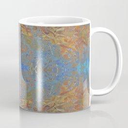 Fall blue geometry Coffee Mug