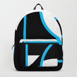 Tube in a Cube White Backpack
