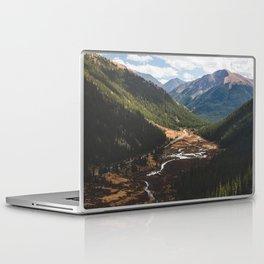 Climbing Independence Pass Laptop & iPad Skin