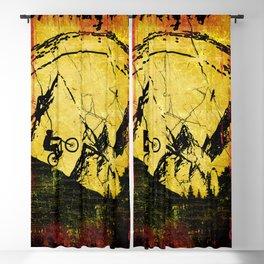 Vintage Downhill Blackout Curtain