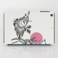 monster hunter iPad Cases featuring Hunter by Zeke Tucker