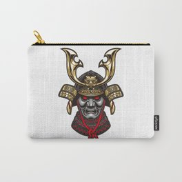 Japanese warlords and helmets Carry-All Pouch