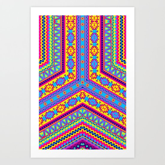 Arrow - Pattern Art Print