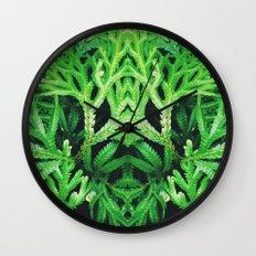50 Shades of Green (4) Wall Clock