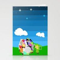 katamari Stationery Cards featuring Little Katamari by CatOverlord