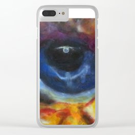 The Watcher Clear iPhone Case