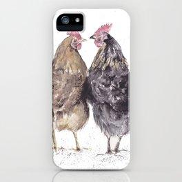 Hens iPhone Case