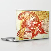 rare Laptop & iPad Skins featuring Rare Bloom by SecondLevelPrints