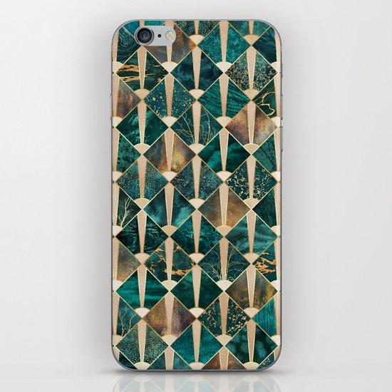 Art Deco Tiles - Ocean iPhone Skin