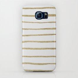 Gold Stripes iPhone Case