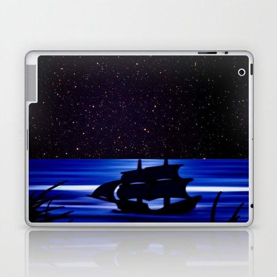 Sky, stars and the sea. Laptop & iPad Skin
