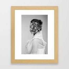 flower people 2 Framed Art Print