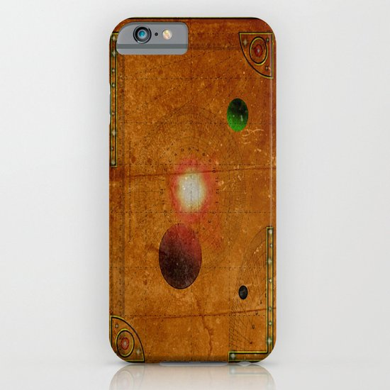 Space Map…and then you turn left 031 iPhone & iPod Case