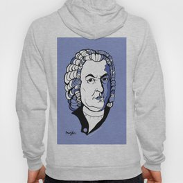 J.S. Bach baroque music  art print classical composer Arioso, Air on a G string,  Brandenburg Hoody