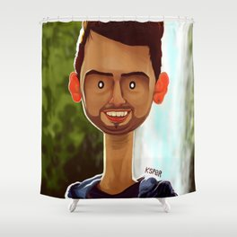 FERNANDO Shower Curtain