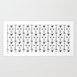 flowers *temp) Art Print