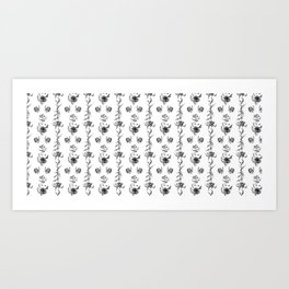 flowers *temp) Art Print