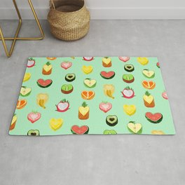Fruit hearts Rug