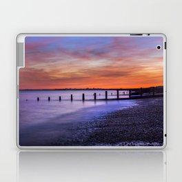 Sunset over Dymchurch Laptop & iPad Skin