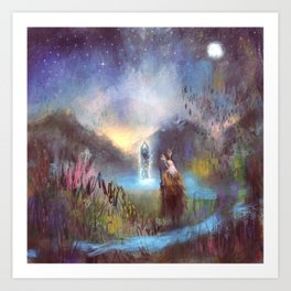Merewif - Spirit of the Waters Art Print
