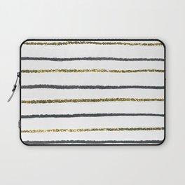 Golden Black Laptop Sleeve