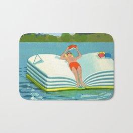 Summer Reading on the Lake Bath Mat