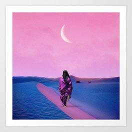 New Moon III Art Print