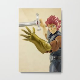 Lion-O Metal Print