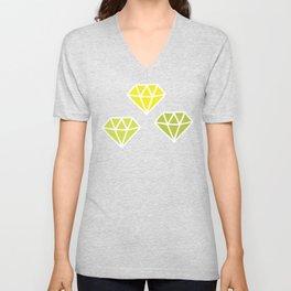Diamonds Unisex V-Neck